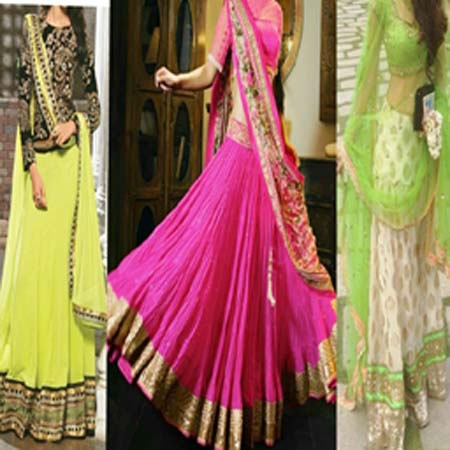LEHANGA CHOLI GIRL'S PARTY WEAR